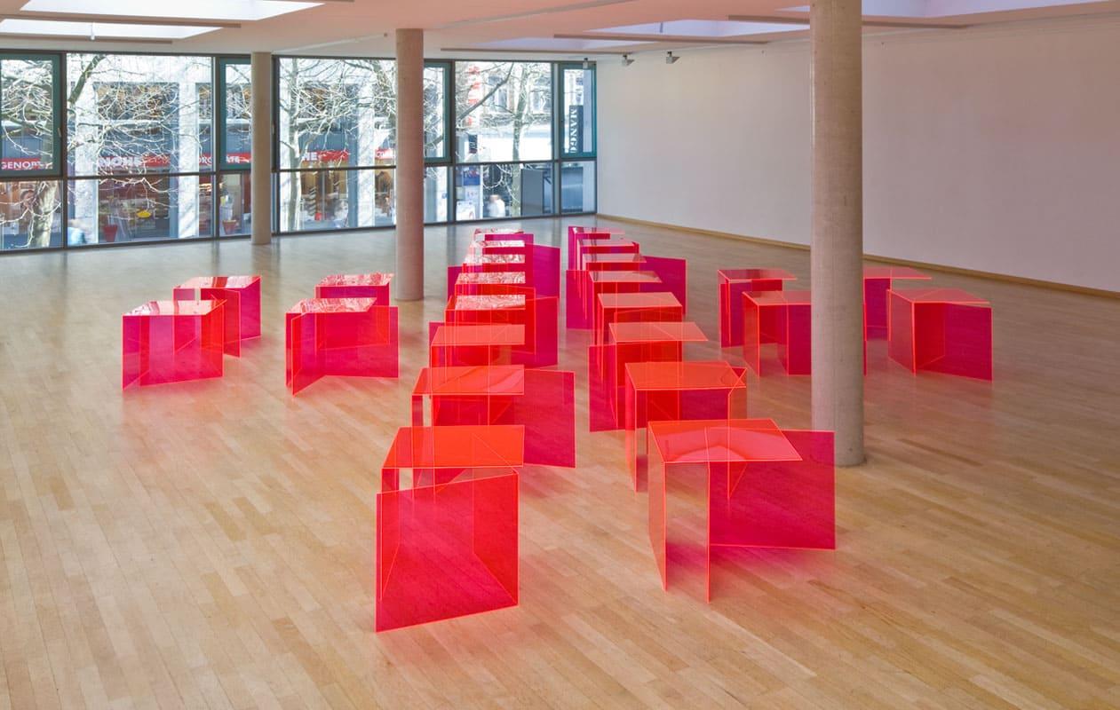 """Die Ausstellung """"Alusni"""" im Kunstmuseum Erlangen. Foto: Markus Kronberger"""