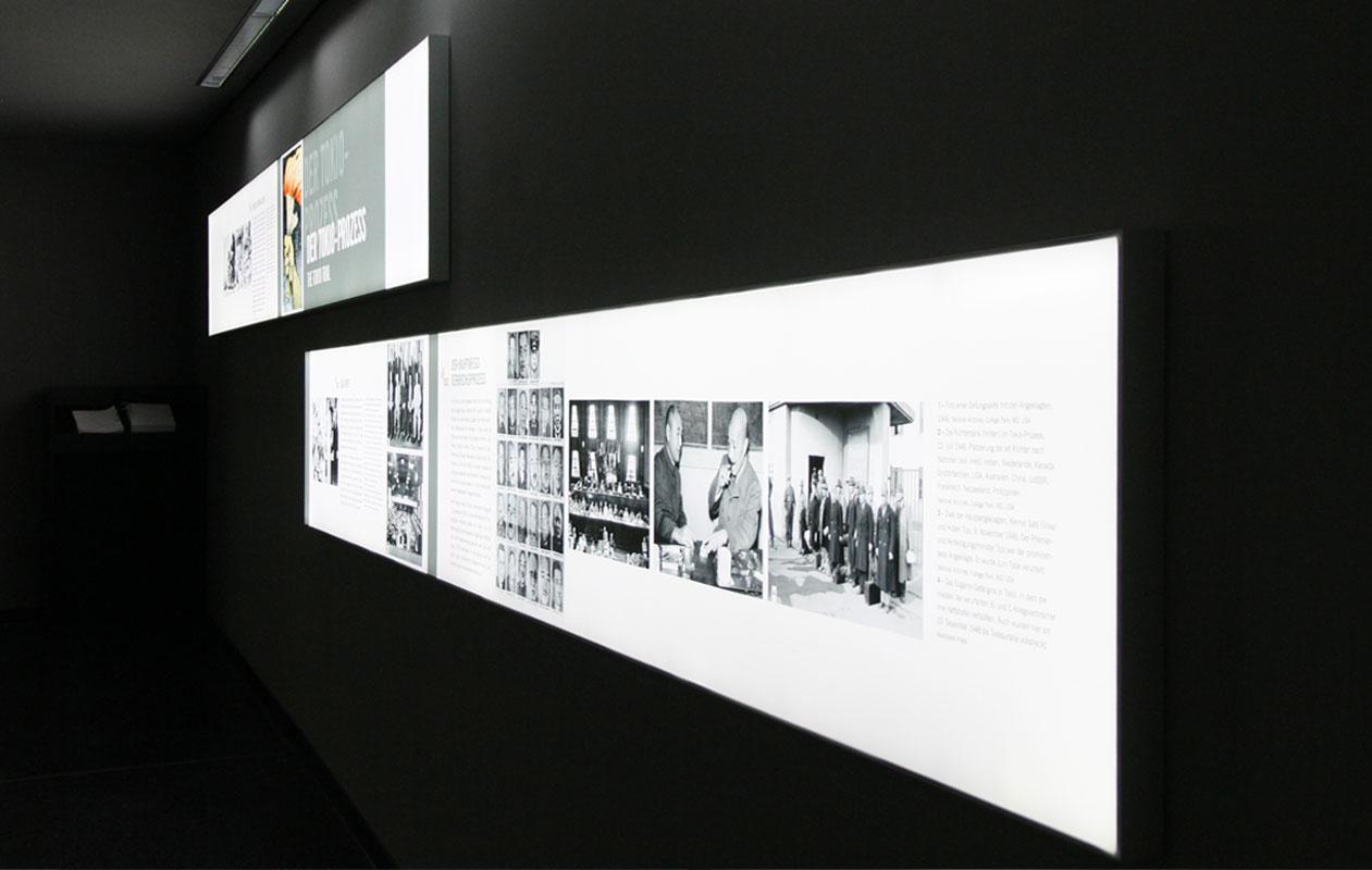 Licht-Infoboxen aus Lightpanel frameless. Foto: axis, Thomas Kehrberger