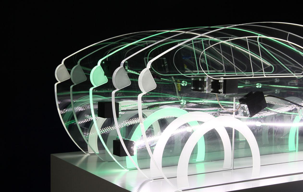 axis Produkt: Funktionsmodell LED Lightpanel Designpanel - acrylglas | plexiglas | licht
