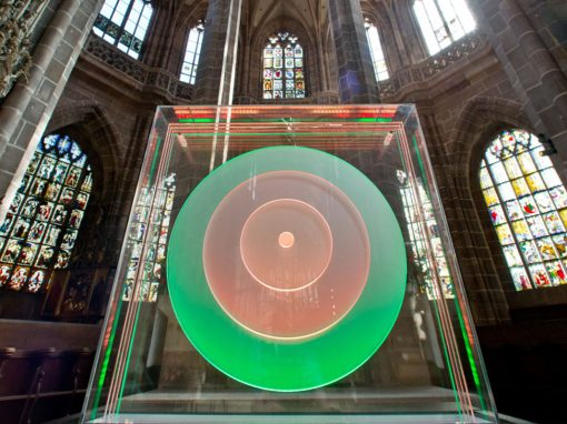 Lichterzauber in der Lorenzkirche