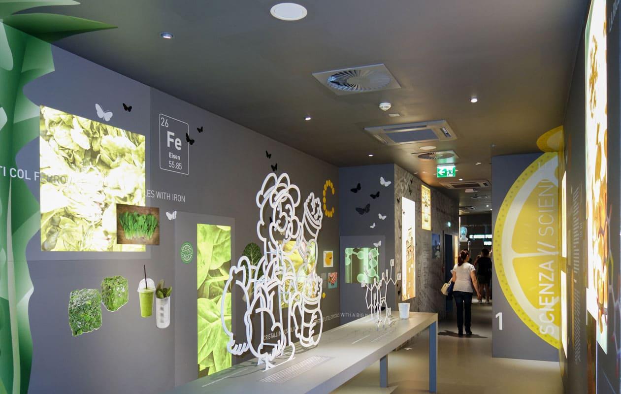 Schweizer Pavillon auf der EXPO 2015 in Mailand